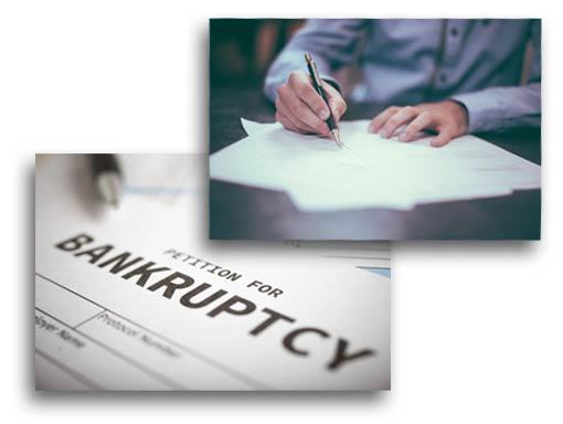 person signing petition for bankruptcy